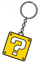 Nintendo ?-Block Rubber Keychain €4,95