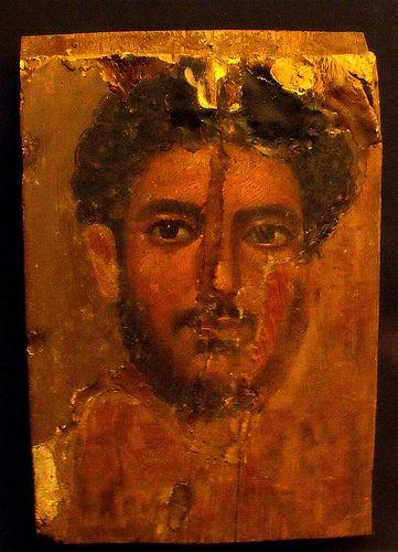 Roman-Egyptian Fayum mummy portrait