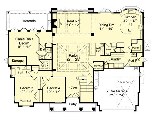 what do you think of this beach homes floor plan