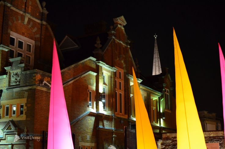 Lumiere to light up Derry over 4 magical evenings 28th Nov to 1st December