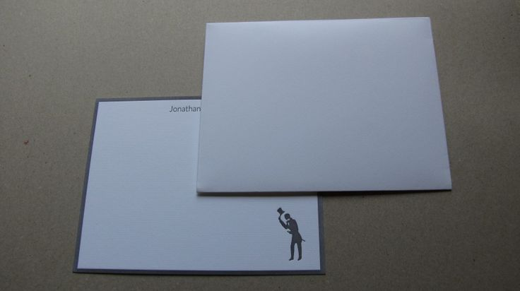 letterpress personal notecards