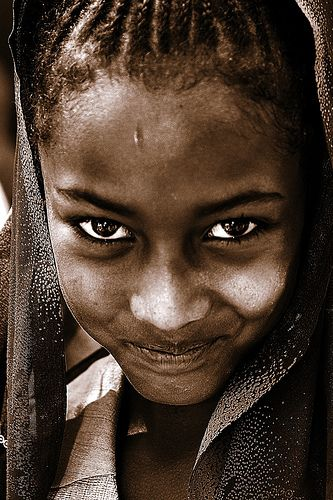 Eritrean girl - Lafforgue