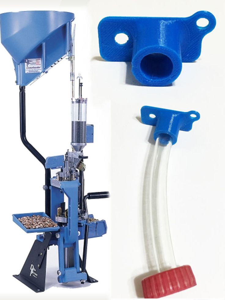 Blue Easy Primer Catcher Fits - Dillon 650 XL - Progressive Reloading Press USA…