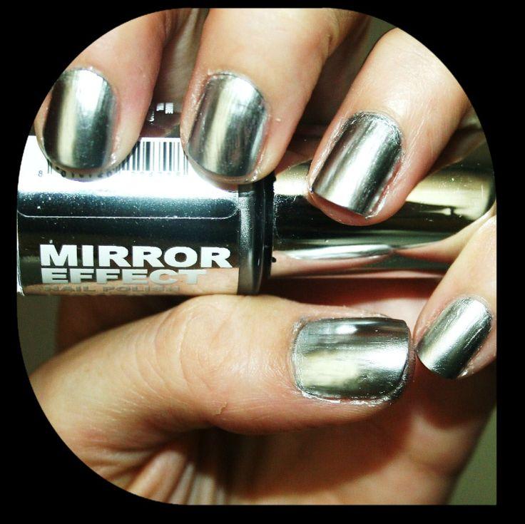 1000+ Ideas About Mirror Effect Nail Polish On Pinterest