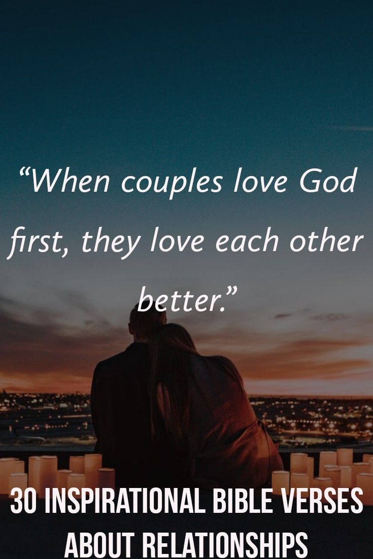 What Bible Says About Couples