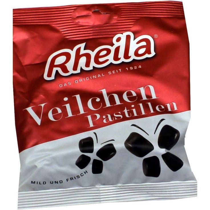 RHEILA Veilchen Pastillen mit Zucker:   Packungsinhalt: 90 g Bonbons PZN: 02460763 Hersteller: Dr. C. SOLDAN GmbH Preis: 1,64 EUR inkl. 7…