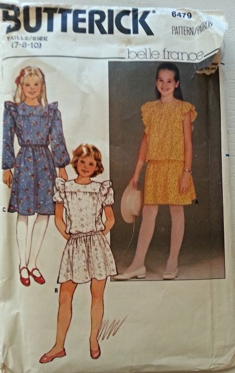 142 best Children\'s Butterick Sewing Patterns at twogirlpugs@Bonanza ...