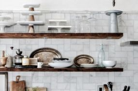 25 chic kitchen #shelfies giving us goals