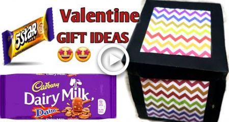 DIY #Valentines day #explosion box/#Valentines day #special #gift for #boyfriend/#Valentin