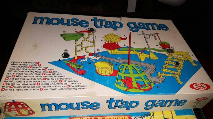 Now selling: MOUSE TRAP The Board Game, Vintage Milton Bradley Game, 1971 - Complete https://www.etsy.com/listing/480580575/mouse-trap-the-board-game-vintage-milton?utm_campaign=crowdfire&utm_content=crowdfire&utm_medium=social&utm_source=pinterest