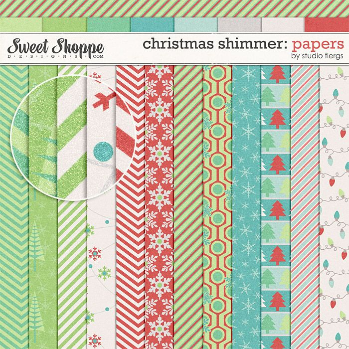 Christmas Shimmer: PAPERS by Studio Flergs