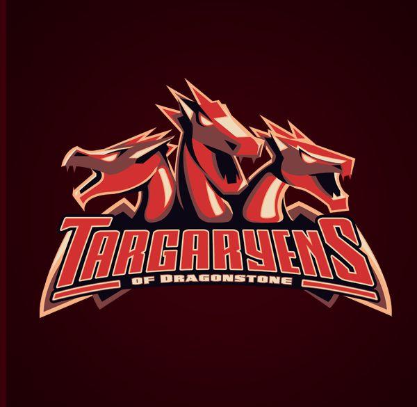 #Targaryens - Westeros Football League by Yvan Degtyariov: Thrones Sports, Football League, Games Of Thrones, Art Prints, Logos Design, Dragonston Art, Sports Logos, Football Team, Sporty Logos
