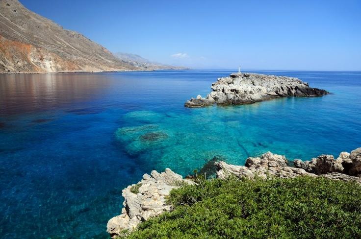 Les eaux transparentes de la mer de Crète !