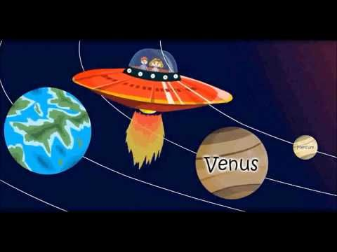 Solar System Animation for Kids  #Education #Kids #Planets #Solar #Video #Cartoon