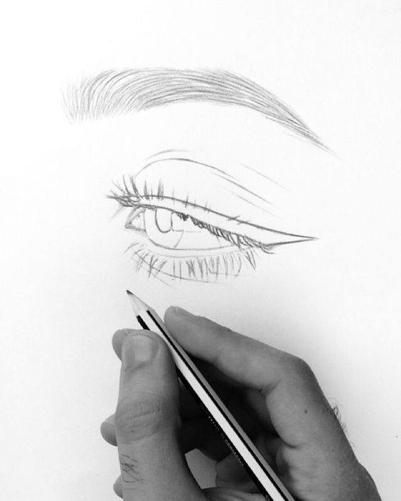 awesome eye drawing ideas. visit my youtube channel to learn drawing and coloring – Ananas