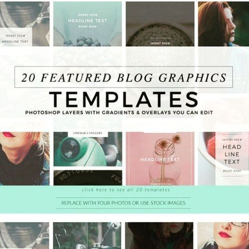 designeour:  Blog Pinterest #Banners #Bundle by Holly McCaig...