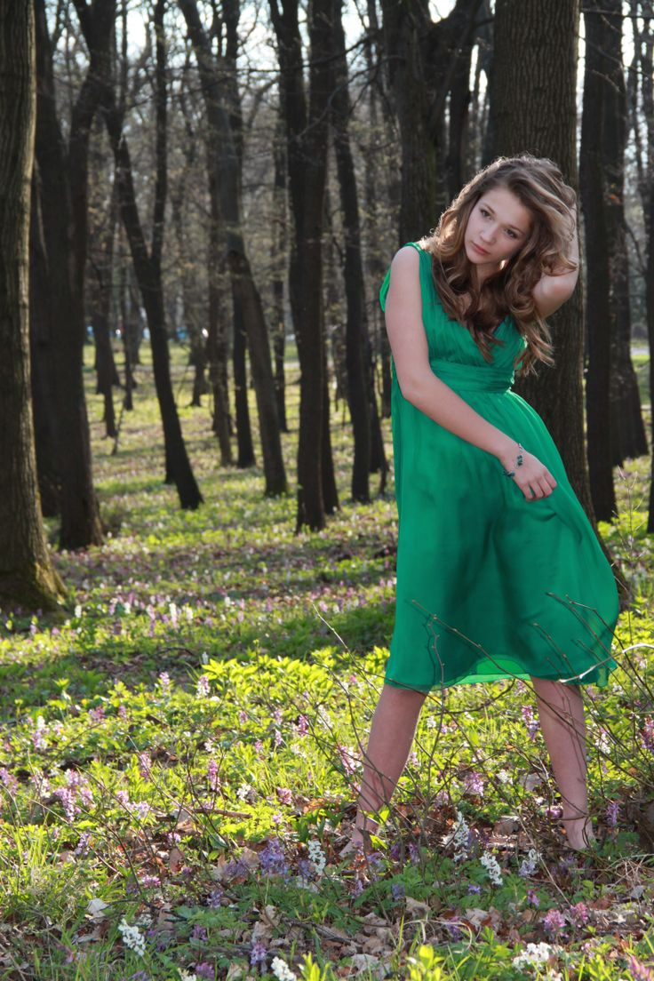 Enjoy the warm spring days and the sunshine.Go green...it is stylish.