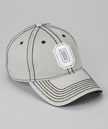 Take a look at this Gray Ohio State Baseball Cap - Adult by T.E.I. on #zulily today!