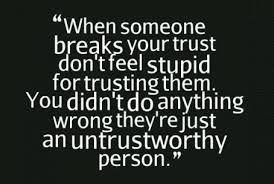 Trust No One Quotes via Relatably.com