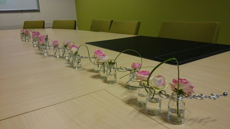 Table decoration created by Blooom Design by Maarten van Rossum