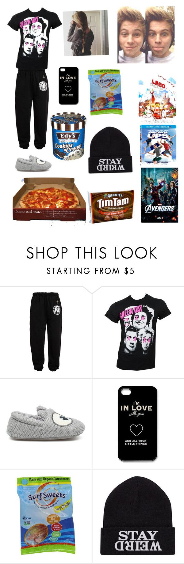 """Lazy day with Luke❤"" by hemmingsluver07 ❤ liked on Polyvore featuring Vision Street Wear, Zara Home, Disney and Marvel"