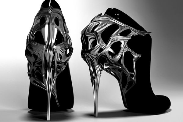 3D Print Shoes Archicouture #jorgeayalaparis