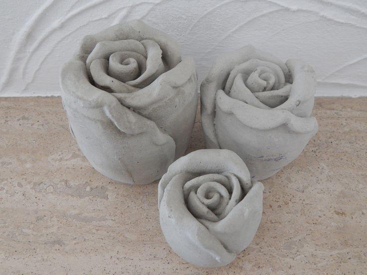 313 besten Beton Bilder auf Pinterest Zement, Einfach und Beton diy - rose aus stein deko