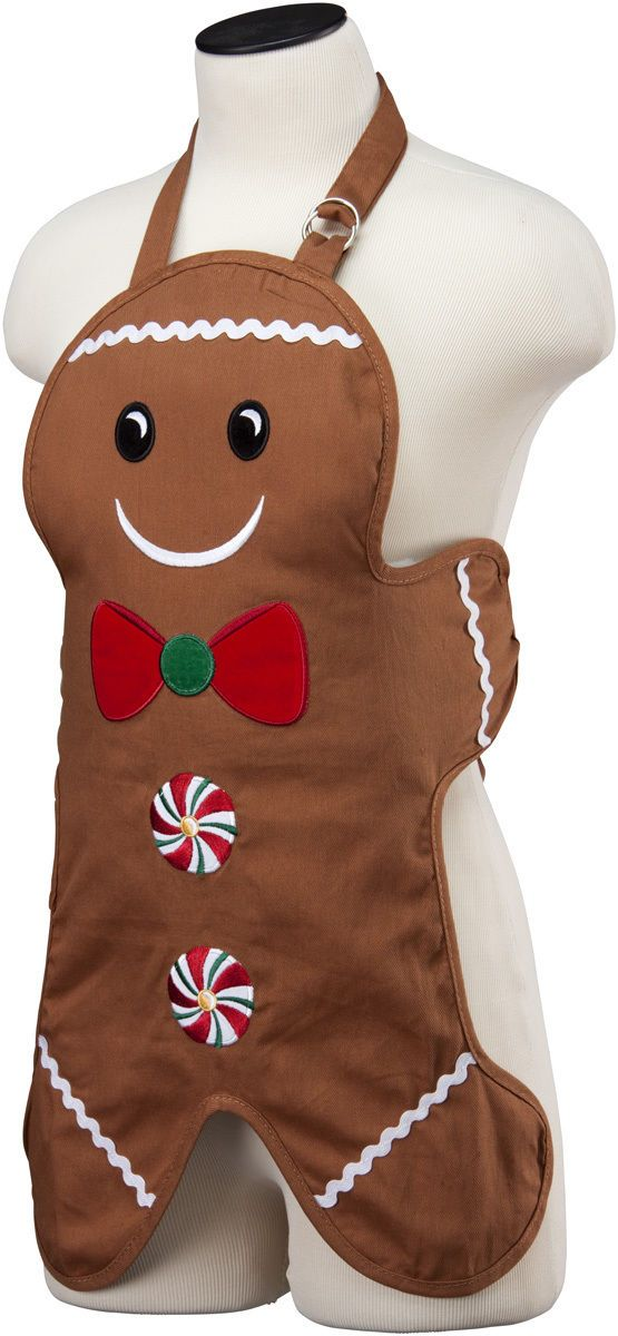 Kids Gingerbread Apron by Miles Kimball | eBay