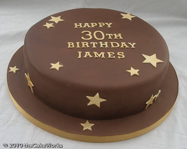 Easy Birthday Cakes for Men  30th Birthday Cake Ideas For Men  Cake ...