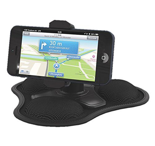 Bell+Howell Clever Grip-Pro Dash Mount Phone holder up to 6.3inch wide phones - The Clever Dash Cell Phone Car Mount is the greatest smartphone accessory to come your way. – This device is small and sturdy, completely portable and easy to carry around. – Keep your smartphone in sight at eye level, ready for hands-free calls, GPS directions & listening to... - http://ehowsuperstore.com/bestbrandsales/home-improvement/bellhowell-clever-grip-pro-dash-mount-phone-