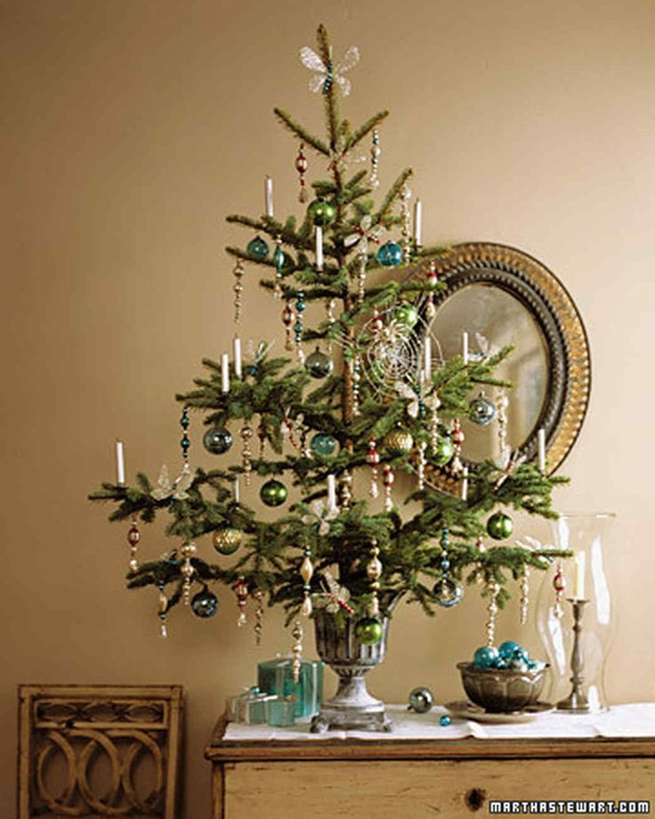 Tabletop Trees Tinsel Tree Christmas Themes Decorations Small Christmas Trees Tabletop Christmas Tree