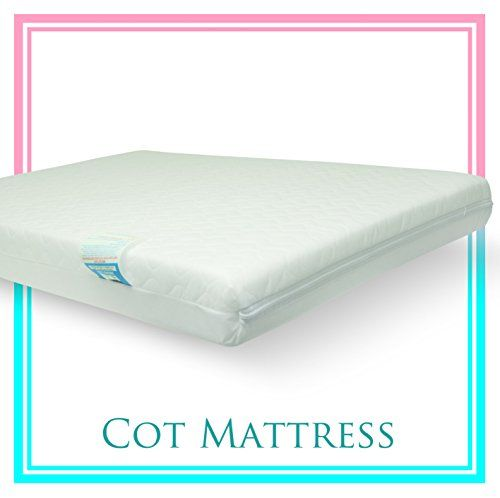 Baby Travel Cot Mattress 95 X 65 10 Cm Quilted Breathable Antiallergenic Uk Made Atm Brand