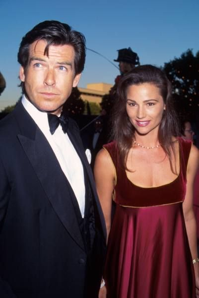 Pierce Brosnan met Keely Shaye Smith, a journalist, in 1994. They married in 2001. Pierce was still grieving from his first wife, Cassandra's death,