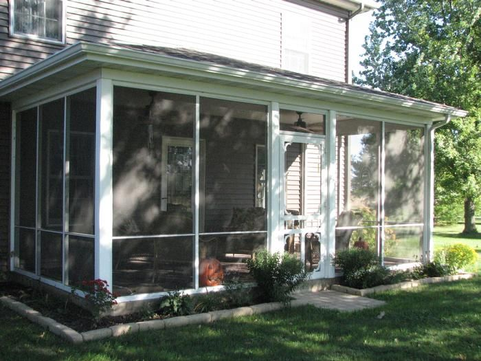 Screened Porches | Aluminum Screened Porch Panels