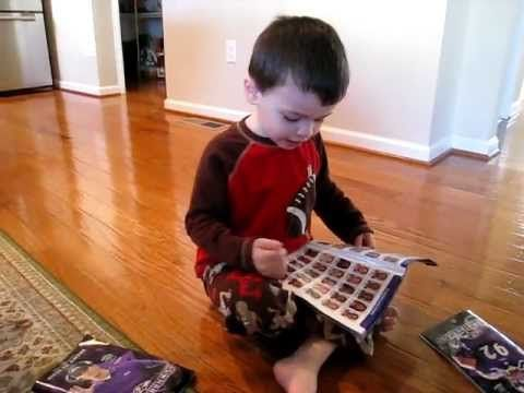 This kid knows his Ravens players :)