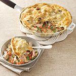 Skillet Chicken Potpie Recipe | MyRecipes.com