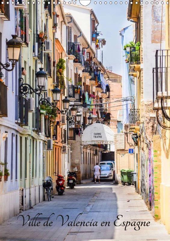 Ville de Valencia en Espagne - CALVENDO