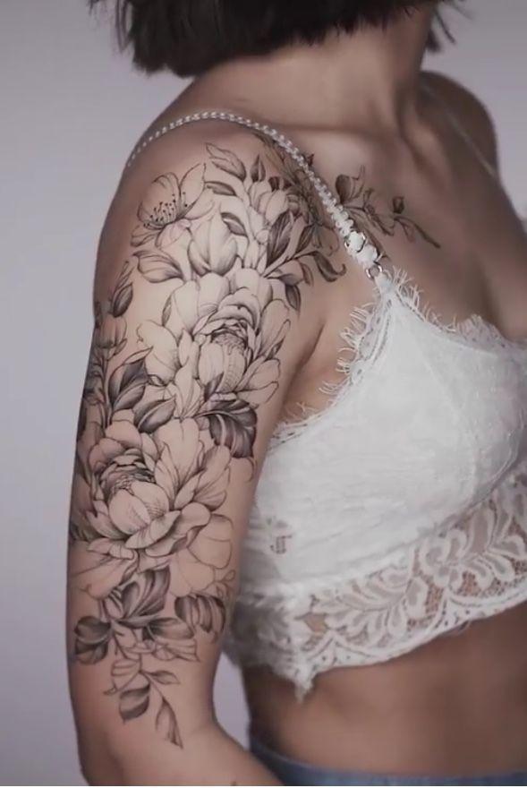 Tatuagem Flor Tatuagem Mulher Braço Fechado # Tattoos # T …   – tatowierung.listelona.com