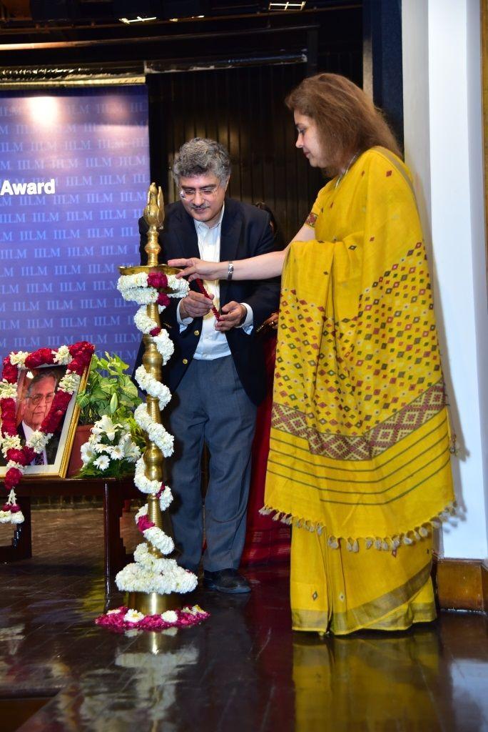 #IILM Confers 10th Distinguished Global Thinker Award on Professor Ashish Nanda, Director #IIMAhmedabad