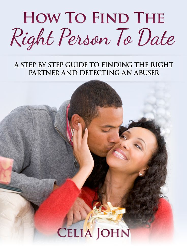 The book How To Find The Right Person To Date is all about finding the right partner for you. It gives relationship advice on how to make better dating choices and avoid dating abusers.