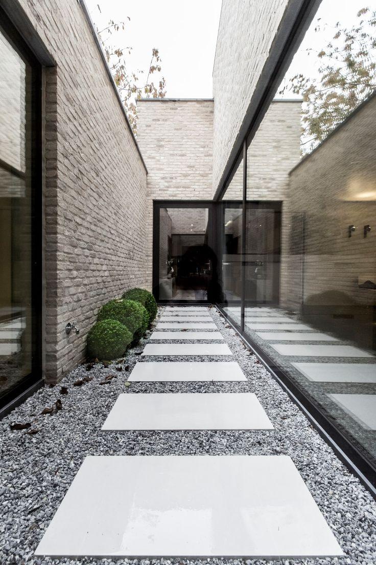 iXtra interieur architectuur / crelan commerciële ruimte