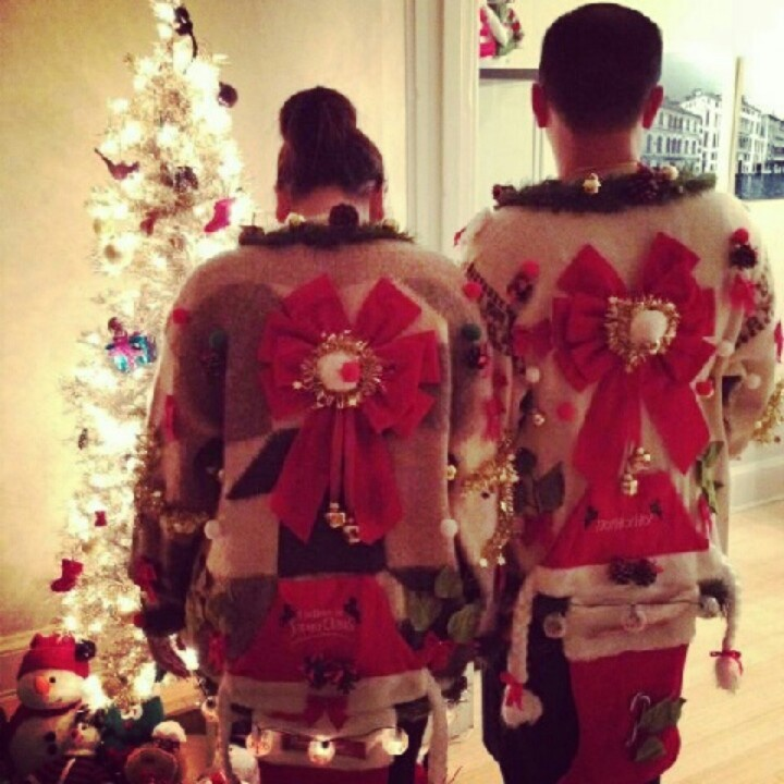 Christmas Jumper Party: 17 Best Images About DIY Ugly Sweaters On Pinterest
