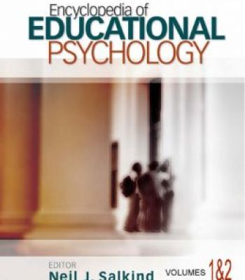 Encyclopedia Of Educational Psychology PDF