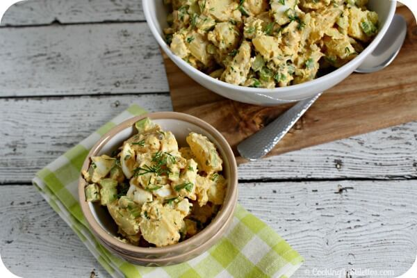 how to make potato salad with eggs and mustard