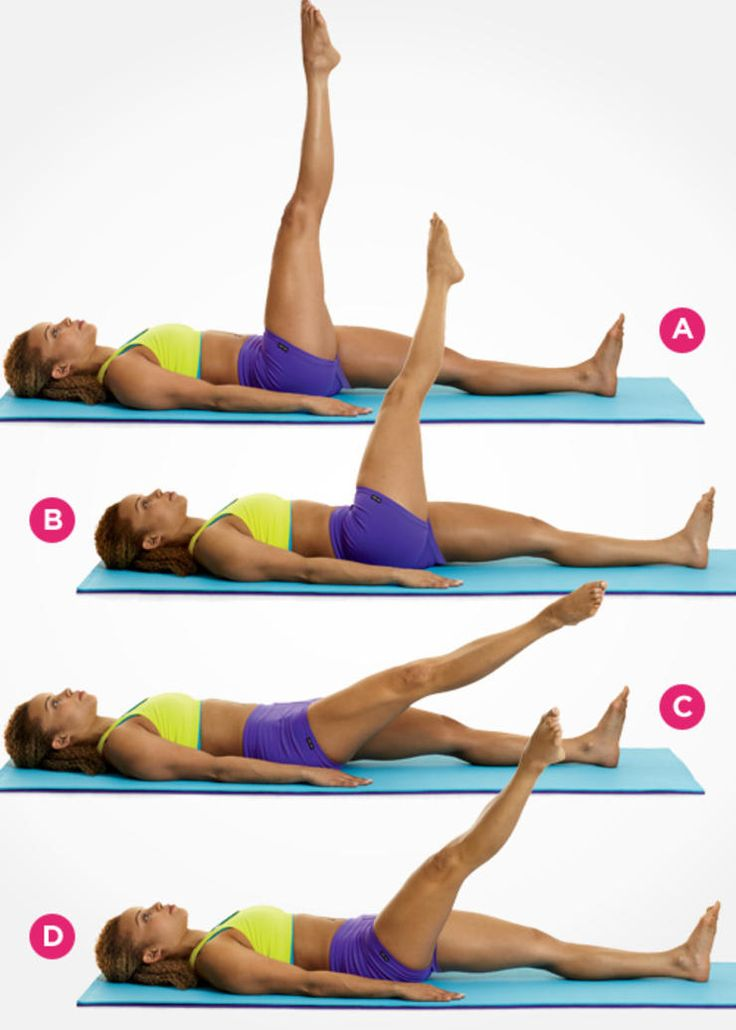 Как похудеть в талии упражнения фото