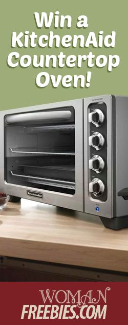Enter To Win A KitchenAid Convection Oven! TERRIFIC GIVEAWAY! Enter here http://womanfreebies.com/sweepstakes/win-a-kitchenaid-oven For Your Chance To Win! You Know That I DEFINITELY ENTERED!!!!! Thanks, Michele :)