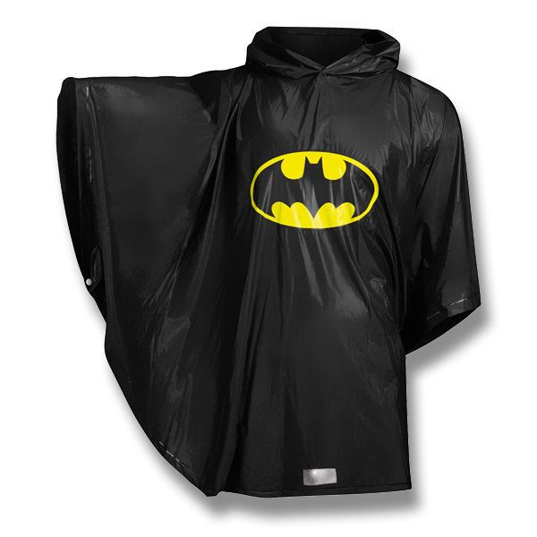 Pláštěnka pončo Batman / Raincoat (Ponchoú Batman /  http://activacek.cz/produkt/plastenka-ponco-batman-6069/