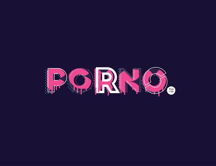"""PORNO DESING Por: A como el logo.  """"Hagas lo que hagas quitate las bragas""""  El porno es igual al diseño TIPOGRÁFICO : DELICIOSO, RICO, PLACENTERO,EXQUISITO,NO APTO PARA TODO PUBLICO, CONTROVERSIAL,CENSURADO, SOFT y hasta HARDCORE.  No soy diseñador , ni tipografo de profesión; pero si me gusta el PORNO DESING de vocación en todas sus versiones visuales Emoticón heart"""