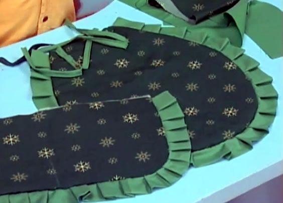 Como fazer jogo de banheiro em tecido - Artesanato Brasil