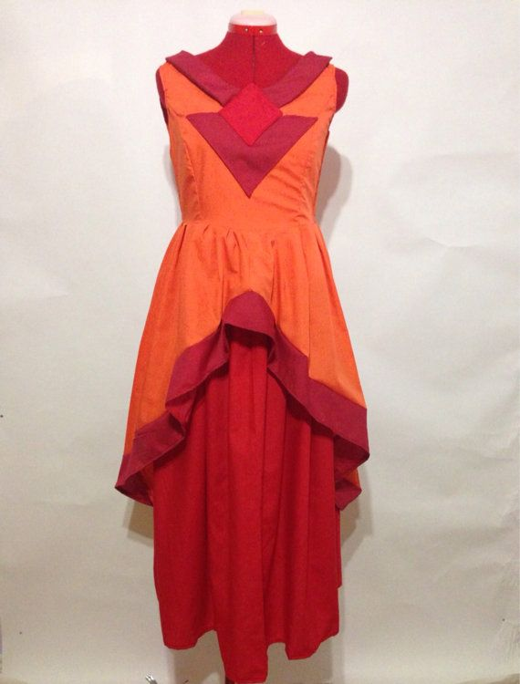 Flame Princess Dress Adventure Time by skycreation on Etsy
